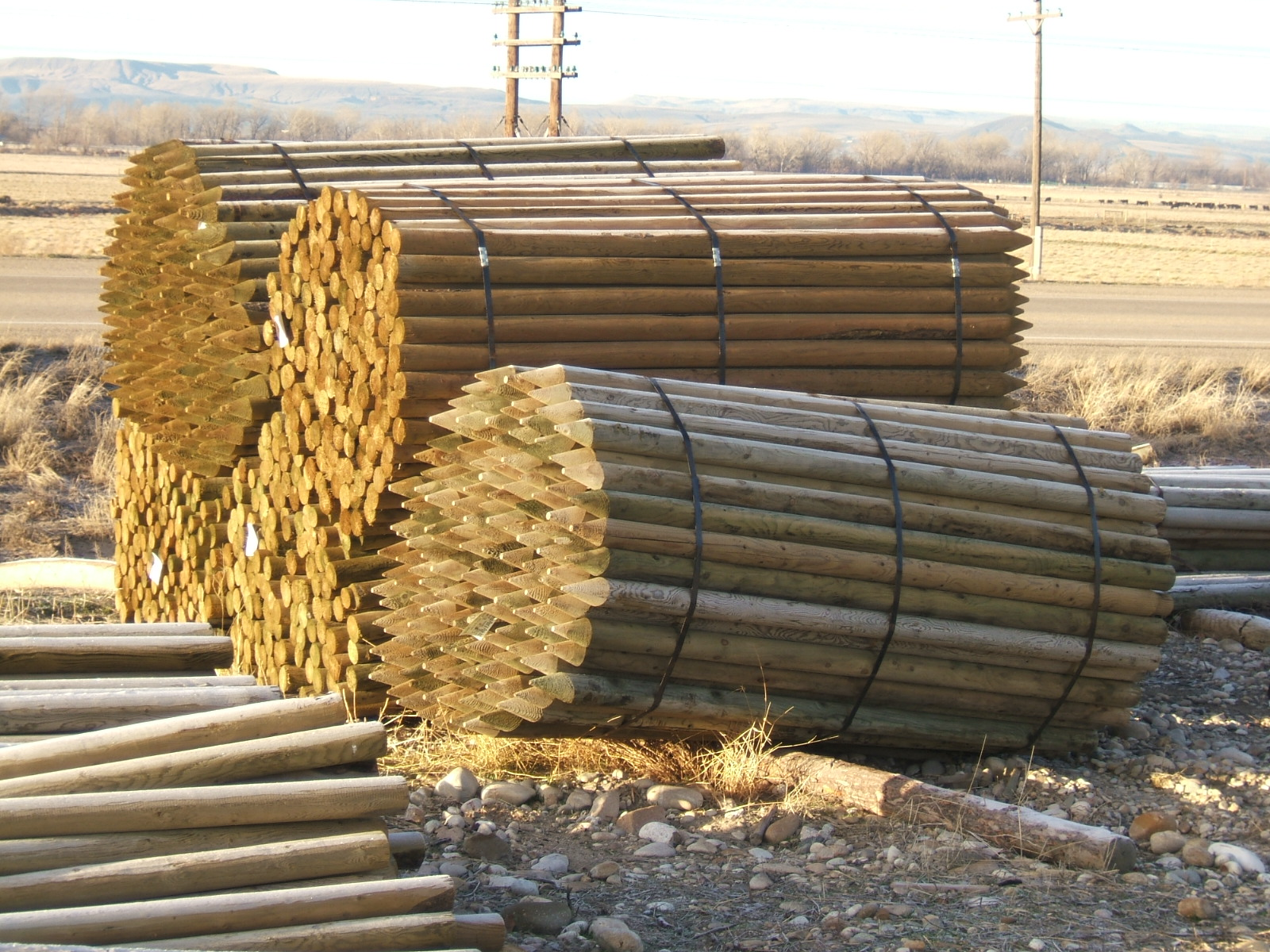 Idaho Utility Poles Building Posts Parma Post And Pole